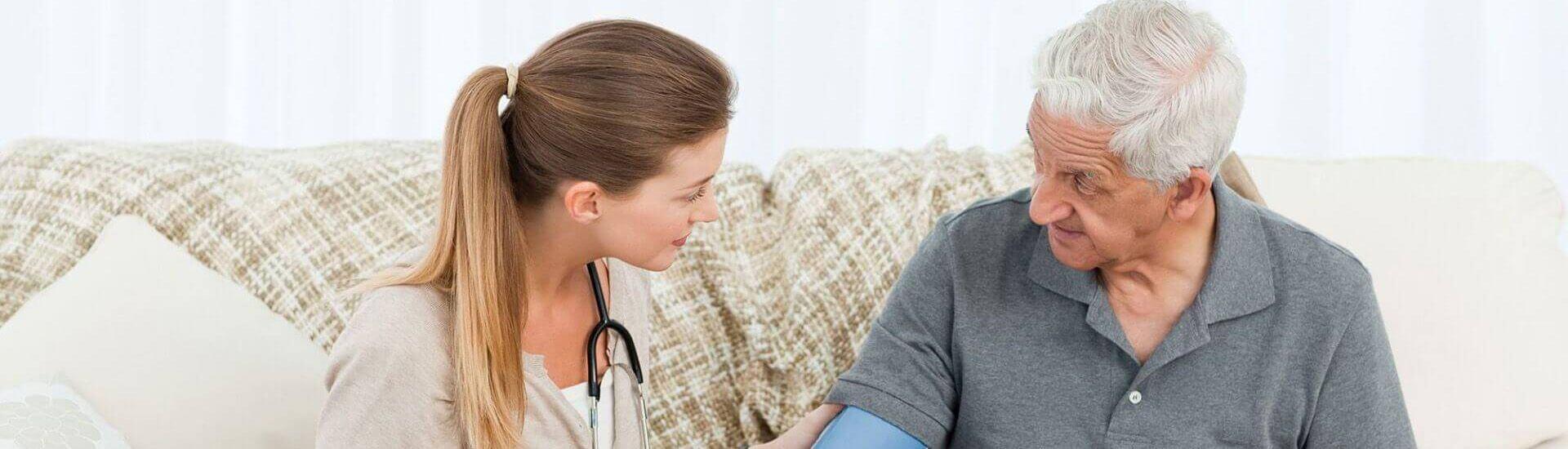 خدمة ما قبل الرعاية الصحية المنزلية